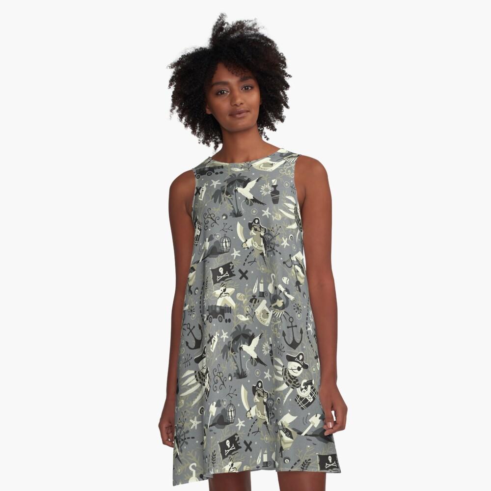 Treasure hunters A-Line Dress