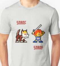 Thundercats 8bit Lion-O and Snarf Unisex T-Shirt
