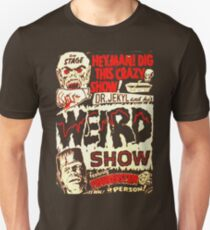 Dr. Jekyl and His Weird Show, Featuring Frankenstein Horror Vintage T-Shirt