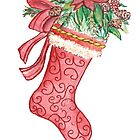 Yuletide Stocking by Annie Mason