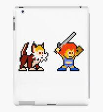 Thundercats 8bit Lion-O and Snarf no text iPad Case/Skin