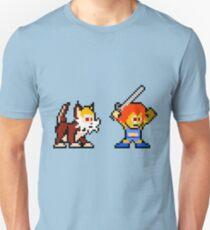 Thundercats 8bit Lion-O and Snarf no text Unisex T-Shirt