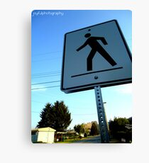 Walk This Way Canvas Print