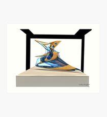 Virtual sculpture 4 Art Print
