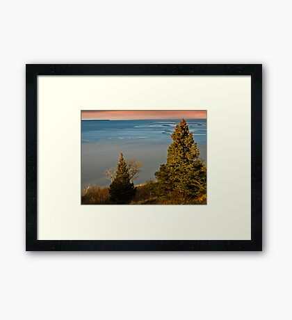 Bore Tide... Turnagain Arm/Cook Inlet Framed Print