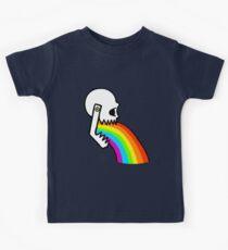 Rainbow Vomit Kids Clothes