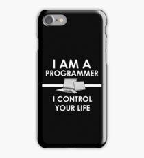 I am a programmer iPhone Case/Skin