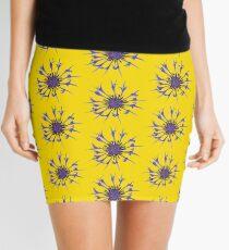 Thin blue flames Mini Skirt