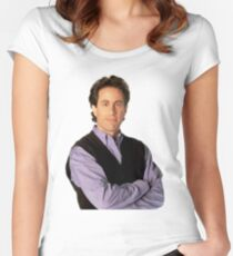 Jerry Seinfeld  Women's Fitted Scoop T-Shirt