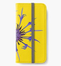 Thin blue flames iPhone Wallet/Case/Skin