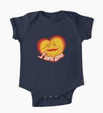I Lava You (Heart) One Piece - Short Sleeve