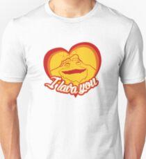 I Lava You (Heart) Unisex T-Shirt