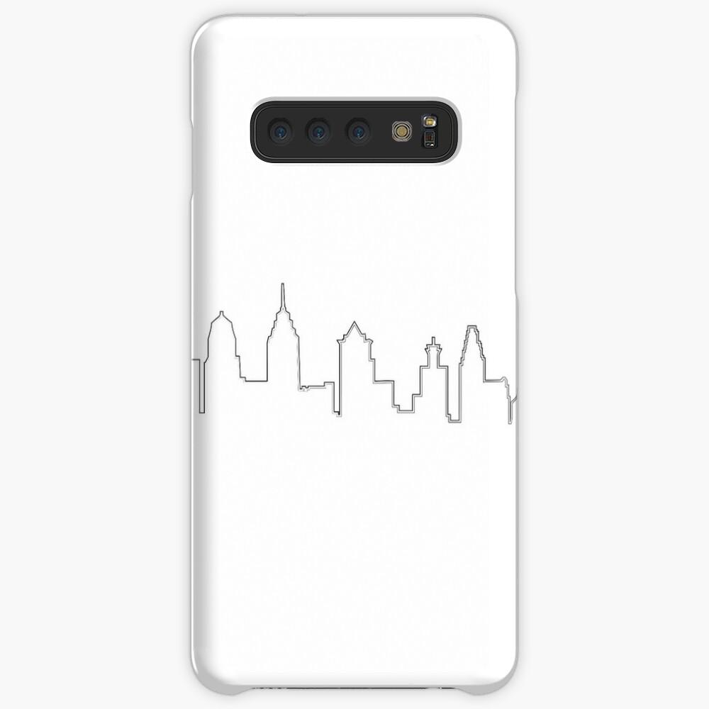 Filadelfia Filadelfia Skyline Funda y vinilo para Samsung Galaxy