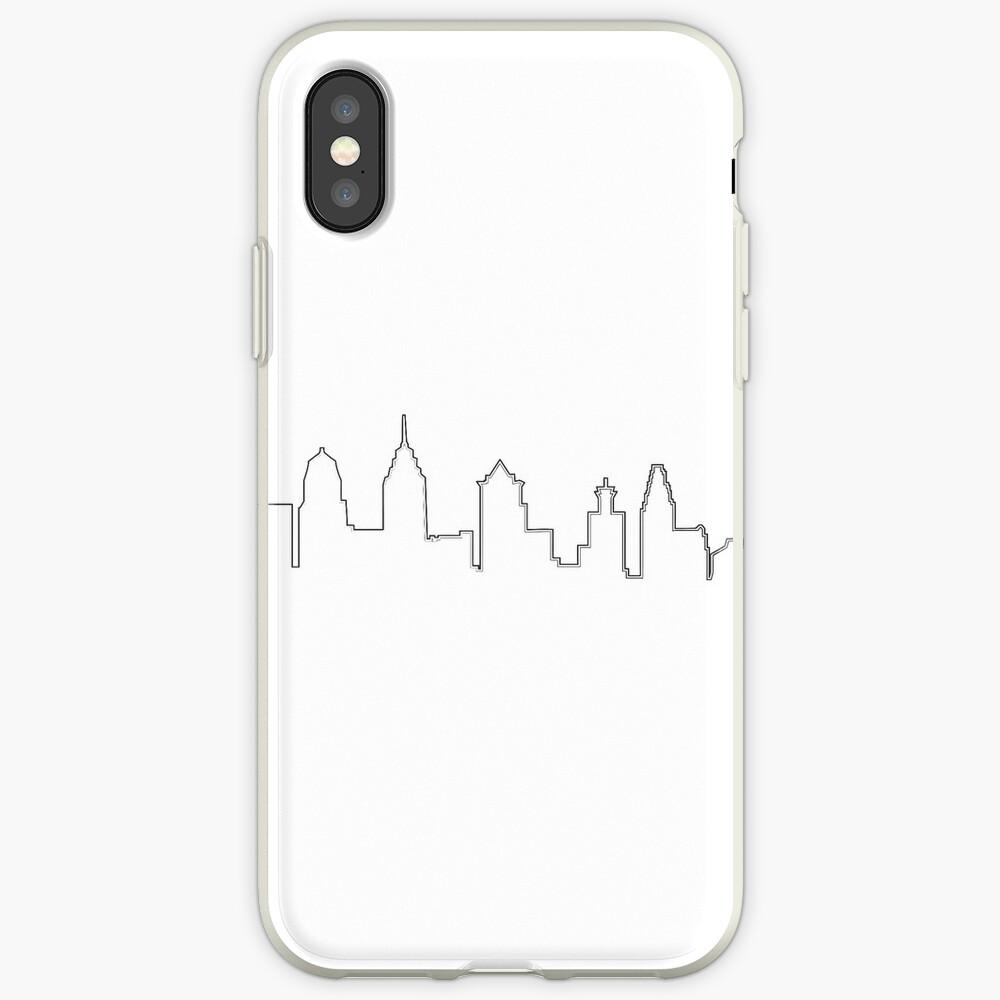 Filadelfia Filadelfia Skyline Funda y vinilo para iPhone