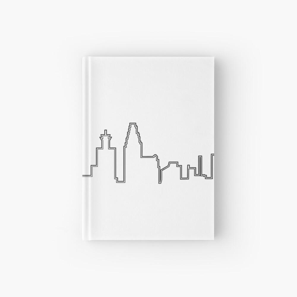 Filadelfia Filadelfia Skyline Cuaderno de tapa dura