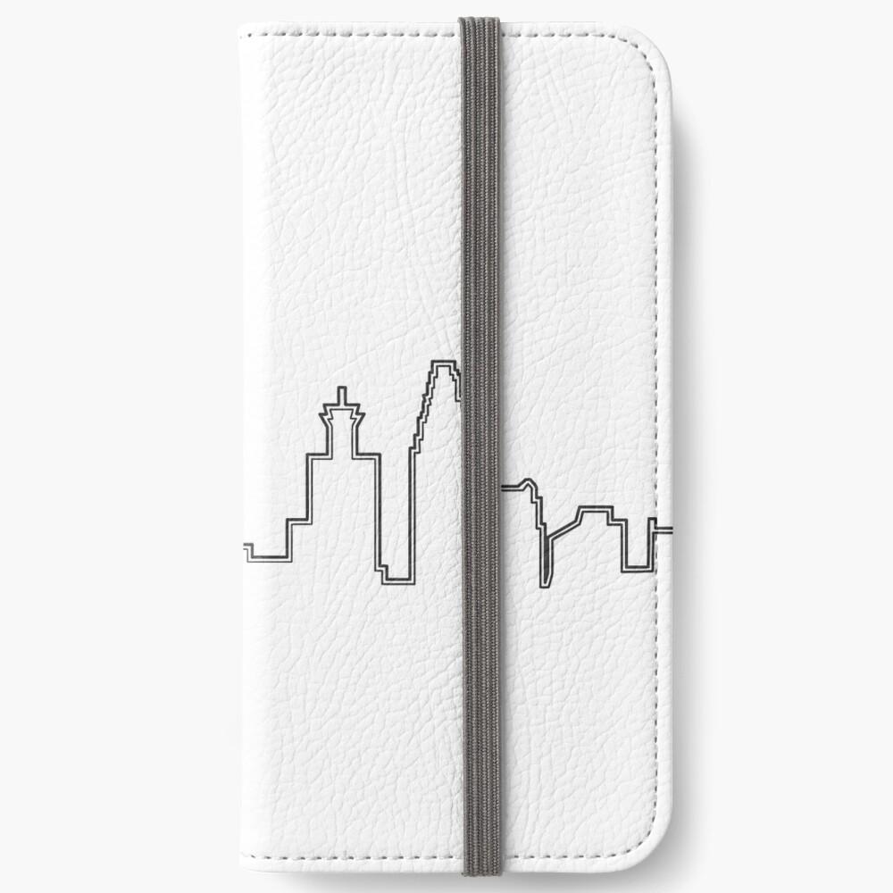 Filadelfia Filadelfia Skyline Fundas tarjetero para iPhone