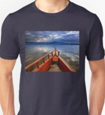 Boat ride in Lake Kerkini Unisex T-Shirt