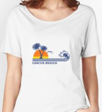Cancun mexico geek funny nerd Women's Relaxed Fit T-Shirt