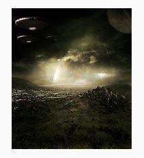 Space City Photographic Print