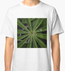 Wet lupin leaf Classic T-Shirt