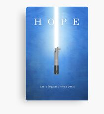 Hope, An Elegant Weapon Canvas Print