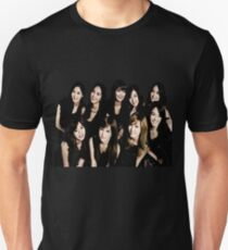 girls generation/snsd - black soshi Unisex T-Shirt