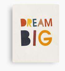 Traum groß, abstrakt, Mitte des Jahrhunderts moderne Kinder Wandkunst, Kinderzimmer Leinwanddruck