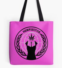 Anonymiss Hemp sector Tote Bag