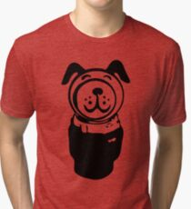 Fisher price little people vintage retro dog geek funny nerd Tri-blend T-Shirt