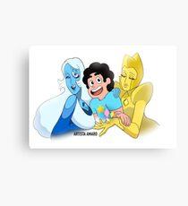 Steven and The Diamonds  Canvas Print