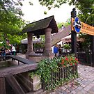 beer garden by doug hunwick