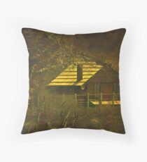 """The Hen House... "" Throw Pillow"