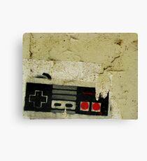 Industrial NES Canvas Print