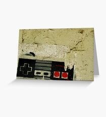 Industrial NES Greeting Card