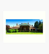 Petersons Guesthouse, Armidale Art Print