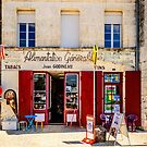 Shop tabac in a village in Charente Maritime, France by 7horses