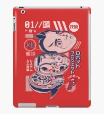 Atomic head iPad Case/Skin