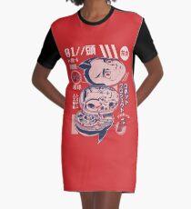 Atomic head Graphic T-Shirt Dress
