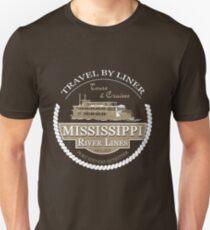 Mississippi River Line T-Shirt