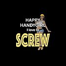 Handygirl love to screw with the handyman. by Andy Renard