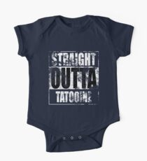 Straight OUTTA Tatooine - Star Wars - distressed One Piece - Short Sleeve