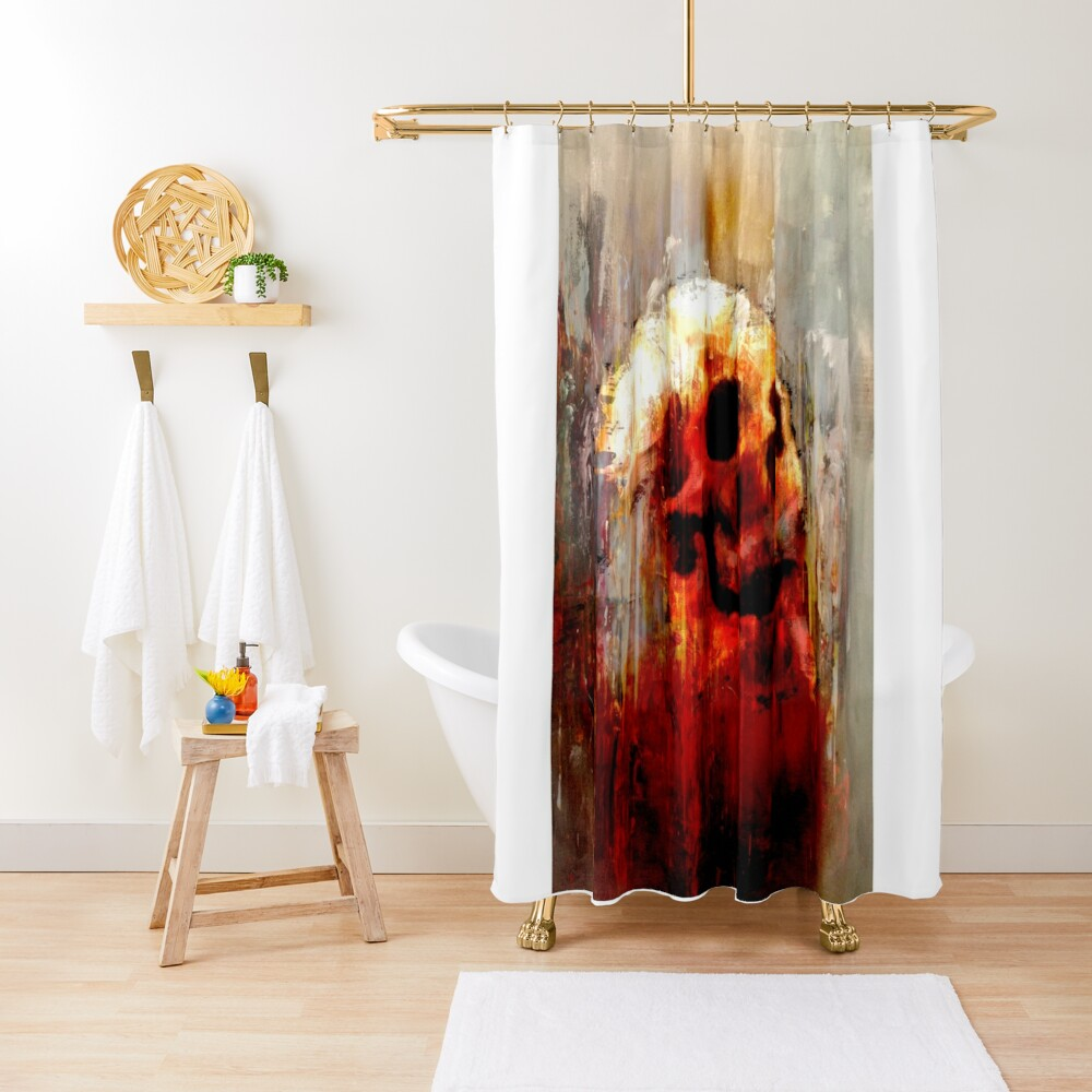 """""""Joanne - Lived, Loved, Lied, Died Series II"""" Shower Curtain"""
