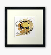 Male Dj Illustration 3 Framed Print