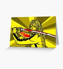 'Kill' Greeting Card