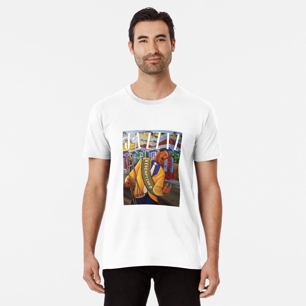 """JAZZIZ """"Redemption"""" Premium T-Shirt"""