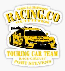 Touring Car Racing Sticker