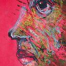 "Face, Bernard Lacoque-16  ""Self-portrait and avatar"" by ArtLacoque"