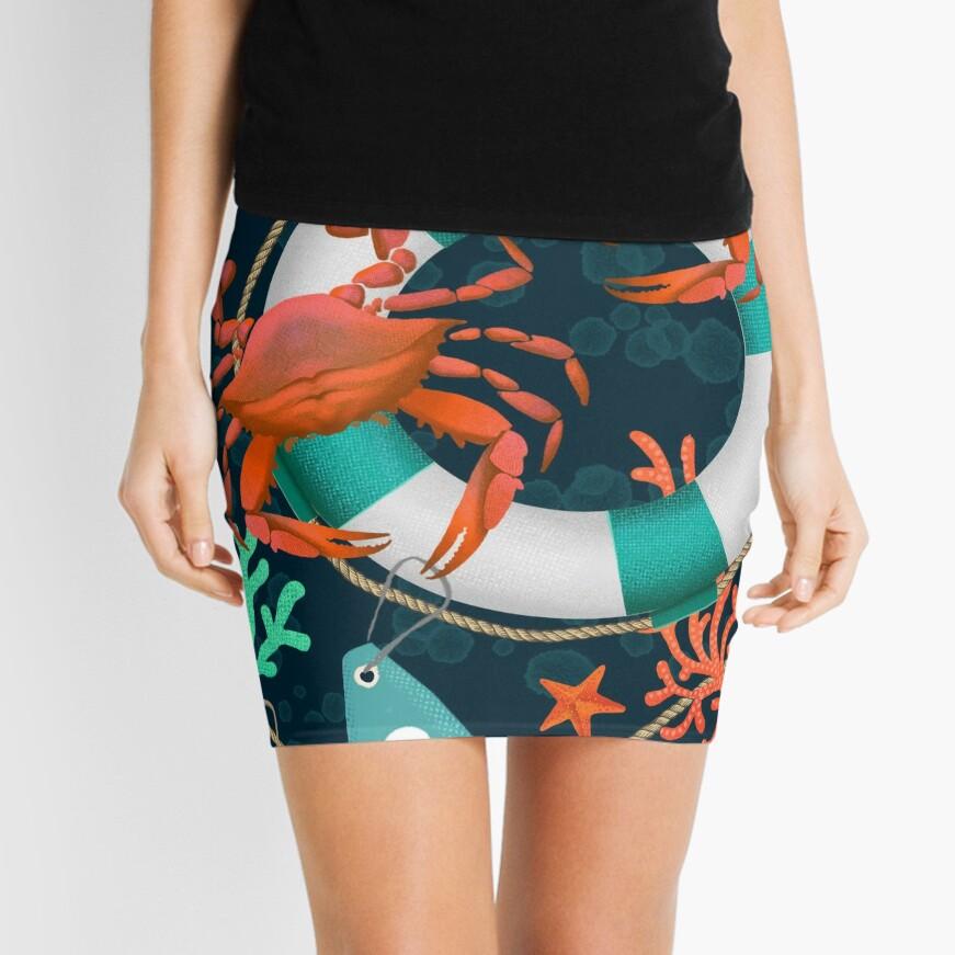 nautical junkyard Mini Skirt
