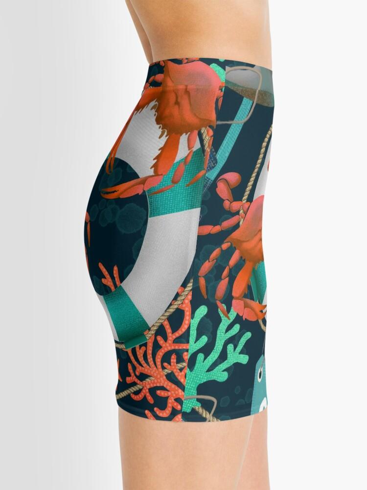 Alternate view of nautical junkyard Mini Skirt