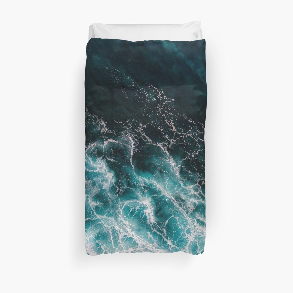 Ocean Abstracts Duvet Cover